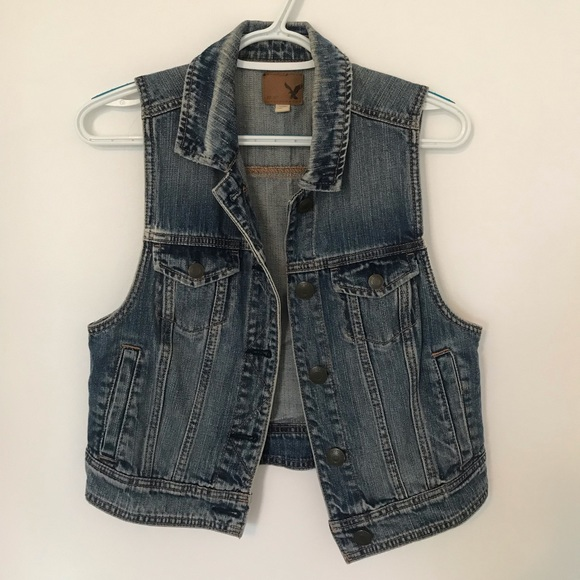 American Eagle Outfitters Jackets & Blazers - American Eagle denim vest
